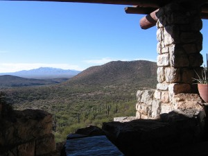Colossal Cave - View From Visitors Center